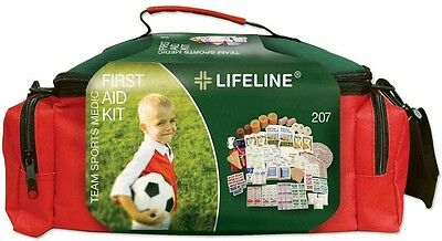 135-Piece Outdoor Team Sports Field Medic Emergency Medical Trama First Aid Kit