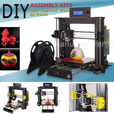 Prusa I3 3D Desktop Printer, DIY High Accuracy CNC Self-Assembly Tridimensional