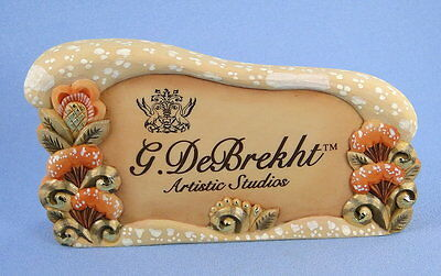 G. DeBrekht Dealer Logo Sign Rare
