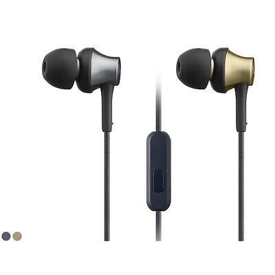 In Ear Earphone with Mic&Control -Bronze/Brass For Sony MDR-EX650AP Headphones