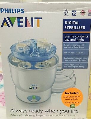 Philips Avent Electric Steriliser, USED, Local Pick Up Only.