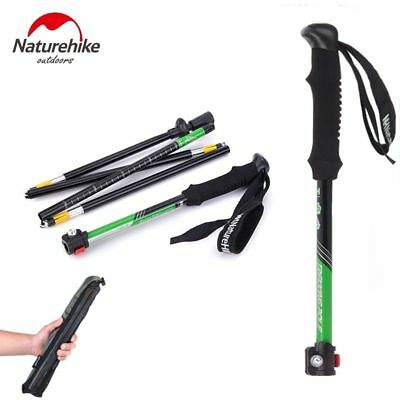 Alpenstocks Ultralight Trekking Pole Folding Pole Waliking Stick Pole NH15A023-Z