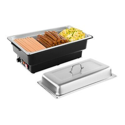 Chafing Dish Electric Food Buffet Party Cater Warmer Hot Water Chafer W/ 1/1 Gn