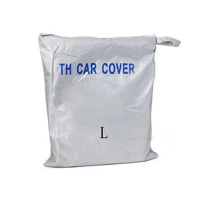 Universal Large Full Size Car Cover Sun UV Resistant Dust Protection Protector L