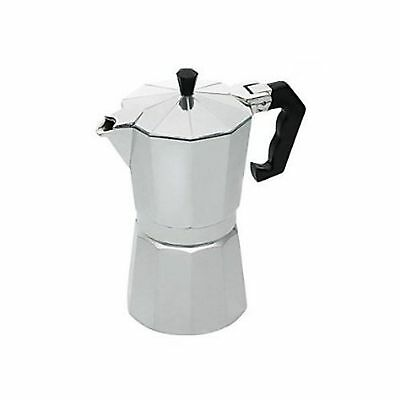 1 Cafetiere Italienne Cafe Expresso 12 Tasses 27 X 12 Cm Gris