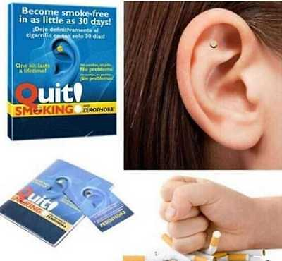 Quit Smoking - ZEROSMOKE Auricular Magnetic Therapy for General Wellbeing