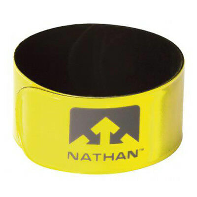NEW Nathan Reflex Snap Bands - HiVis - 2 pack from Ezi Sports Store