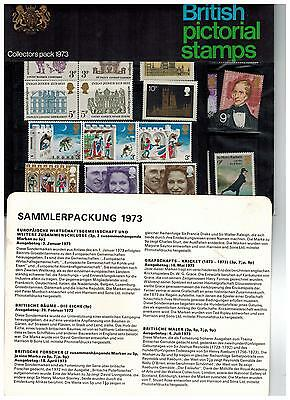 1973   Yearpack Year Pack + German Insert Year Pack Pl(P)2335