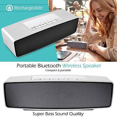Rechargeable Wireless Bluetooth Speaker Hi Portable For iPhone iPod Samsung iPad