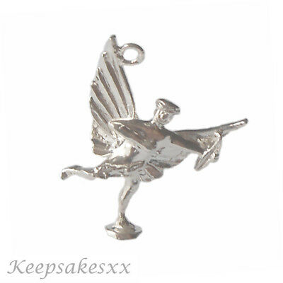 Sterling Silver EROS - God of Love Piccadilly Circus UK 925 3D NEW Charm Charms