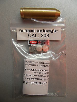 CARTUCCIA LASER COLLIMATORE CAL 308 243 carabina Laser Bore Sight BoreSighter