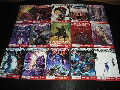 Cataclysm Ultimate Comics X-Men Spider-Man Ultimates 1 2 3  Last Stand 1 2 3 4 5