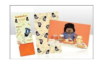 Official Paddington Bear Marmalade Tea Towels 2 Twin Double Pack Souvenir Gift