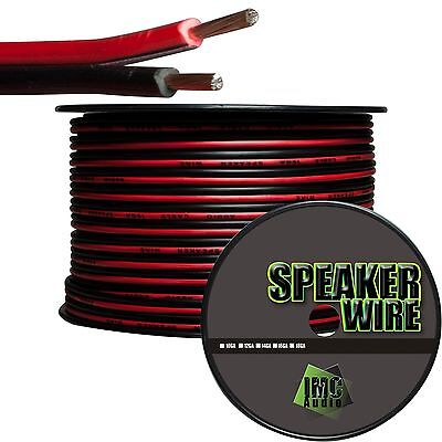 16 Gauge Speaker Wire Red Black Cable Power Ground Stranded Copper 5 Ft Car Home