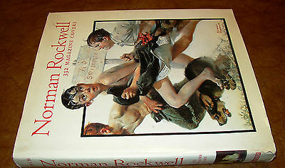 Norman Rockwell 332 magazine covers 2nd edition Original 1994 Near MINT!