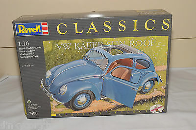 Revell Kit 7490 Vw Volkswagen Beetle Kafer Sun Roof Mint Boxed Sealed