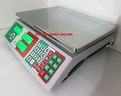 Digital Electronic Price Computing Weighing Fruits Veggi Scale 40 Kg Home & Shop