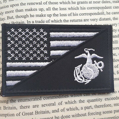 Navy Seal Team Usa Flag Tactical Usa Army Embroidery Morale Badge Patch