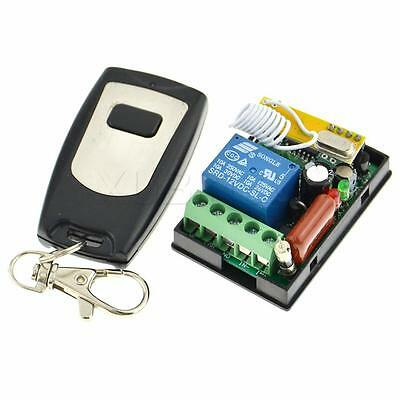 RF AC 220V 1 Channel Remote Control Switch Learning Code Transmitter Receiver