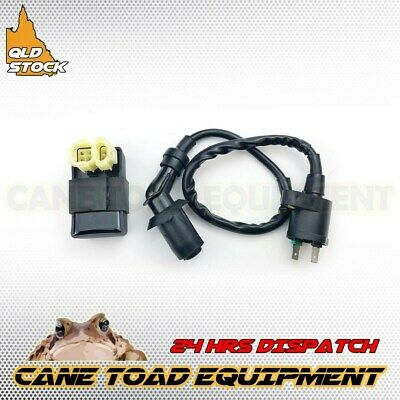 GY6 CDI BOX 6 PIN+IGNITION COIL 50cc 125cc 150cc ATV MOPED GO KART SCOOTER