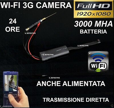 Spy Camera Spia WIFI TELECAMERA MICRO NASCOSTA MICROCAMERA FULL HD MOTION