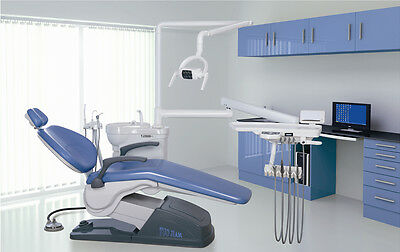 A1 Dental Unit Chair FDA CE Approved PU Leather Computer Control Free Shipping