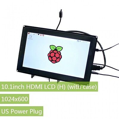 10.1inch HDMI LCD (H) 1024×600 Touch Screen Raspberry Pi LCD for Multi Systems