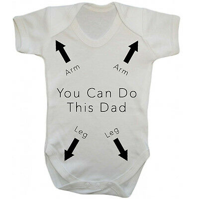 You Can Do This Dad Baby Bodysuit Grow Vest Girl Or Boy Clothes Funny Gift