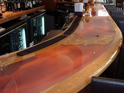 Table Top and Bar Top Epoxy Crystal Clear Resin 6 gallon kit