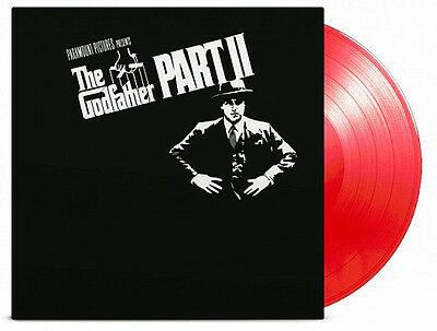 THE GODFATHER PART II -OST- 180G RED TRANSPARENT Vinyl LP LIMITED EDITION