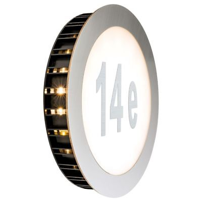 Schicke Special Hausnummernleuchte Sunset IP44 LED