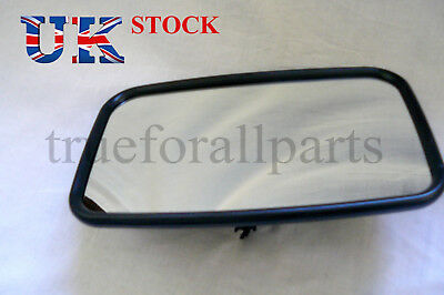 1x 30cm x 18cm Universal Side Mirror fit Truck Lorry Caravan Bus Car E6 marked