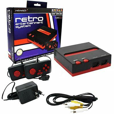 NES Retro Entertainment System(Black/Red), New, Free Shipping