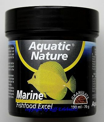 Aquatic Nature Marine Fishfood Excel 70g Fischfutter  11,41€/100g