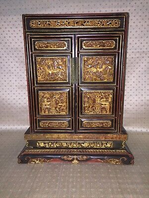 Antique Chinese Gilt Chest Chinese Furniture