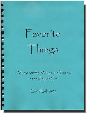 Favorite Things - 20 Songs for the Mountain Brand Ocarina in C Picture Graphics