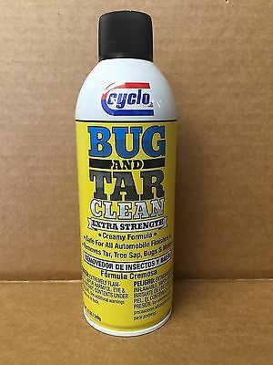 Genuine Extra Strength Cyclo Bug and Tar Remover Spray C-64 FREE PRIORITY