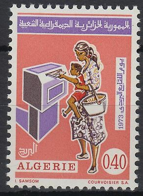 Algerien Algerie 1973 ** Mi.599 Post Mail Brief Letter Briefkasten [st0286]