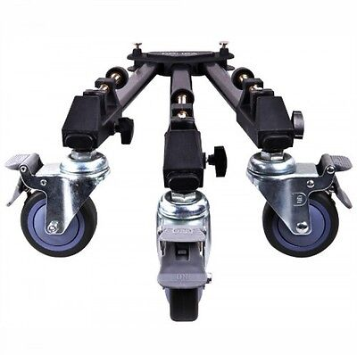 Dolica LTD100 Professional Lightweight and Heavy Duty Tripod Dolly with