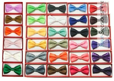 24 Plain Colors Style Children Toddler Baby Child under Age of 6 kid 1x bow tie