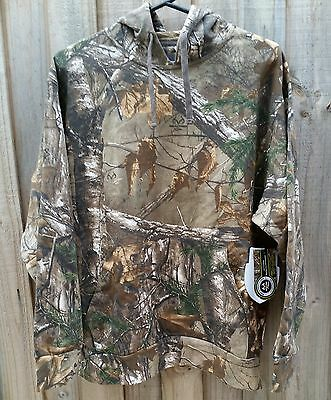 Realtree Xtra Camo Hoodie Jacket Hunting Fishing - Men's MEDIUM