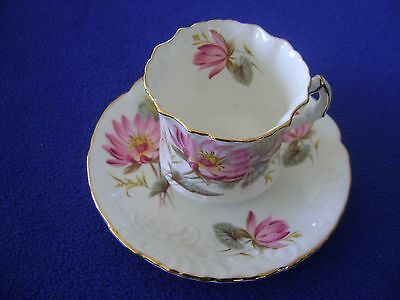 Vintage Hammersley & Co. Bone China Cup and Saucer Made in England # 5792