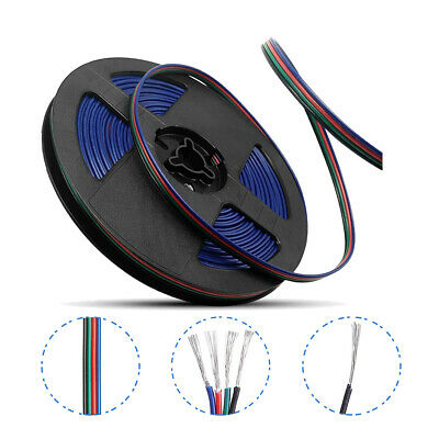 WOW - 20M 4 Pin Wire Extension Connector Cable Cord for 3528 5050 RGB LED Strips