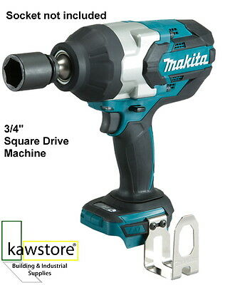 """Makita DTW1001Z 18 Volt LXT 3/4"""" Drive Brushless Impact Wrench, Bare Unit"""