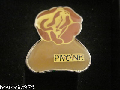 "Pin's /pins / Badge   Cosmétique Yves Rocher  "" Pivoine """