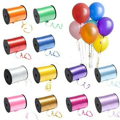 250Yds Balloon Color Curling Ribbon Roll Wedding Birthday Gift Wrap Party Decor