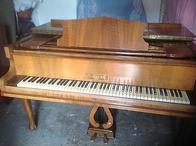 Walnut Challen Grand Piano