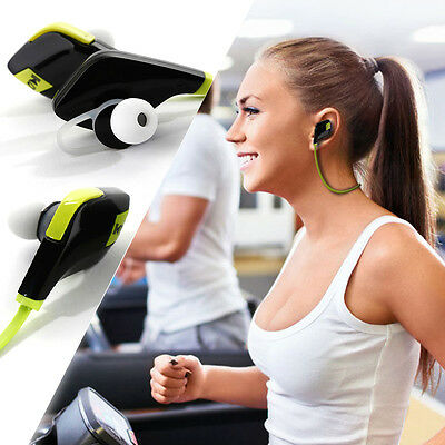 Wireless Bluetooth Sport In-Ear Stereo Headphones Drahtlose Kopfhörer Ohrhörer