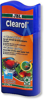 JBL Clearol 100ml - Aquarium Water Clarifier Remove Cloudy Particles Algae & Co.