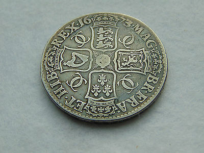 1673/2 Charles II early milled silver crown third bust. V. QVINTO (C504)